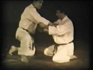 Ude Hishigi Hara Gatame (leva al gomito con l'addome)