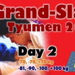 Judo Grand Slam Tyumen 2014: Day 2