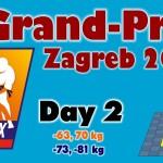 Judo Grand Prix Zagreb 2014: Day 2