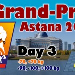 Judo Grand Prix Astana 2014: Day 3