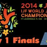 World Junior Championships 2014: Day 1 – Final Block – Tatami 1