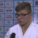 Interview – Van T End (NED) -90Kg Gold Medalist Qingdao Judo GP 2014